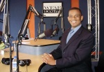 Anthony Foxx at WFAE's Spirit Square studio