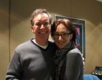 Mike with Carmen Cusack, plays Nellie in South Pacific